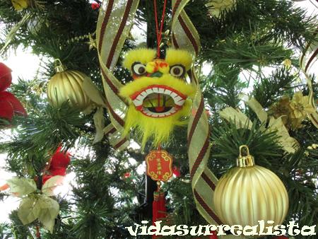 Dragon de navidad  vidasurrealista