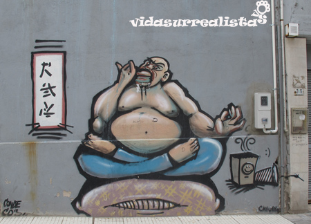Grafitis en Montevideo 2