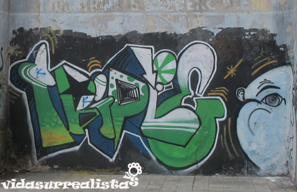 Grafitis en Montevideo 4