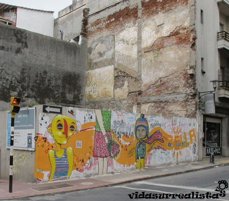 Grafitis en Montevideo 5