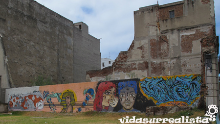 Grafitis en Montevideo 6