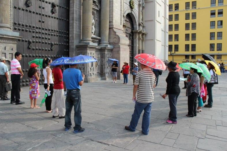 En Catedral De Lima, Peru.