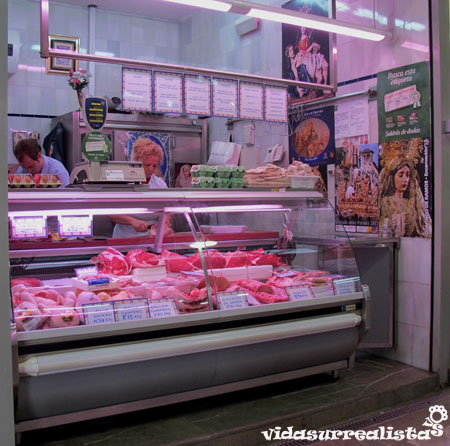 Mercado Central de Granada, España