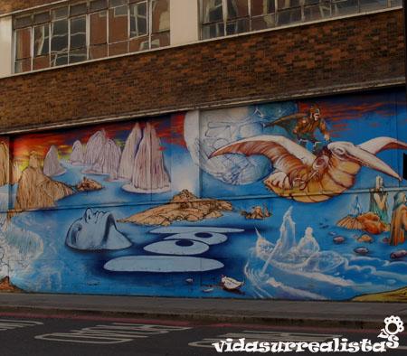 Grafitis de Londres vidasurrealista 12