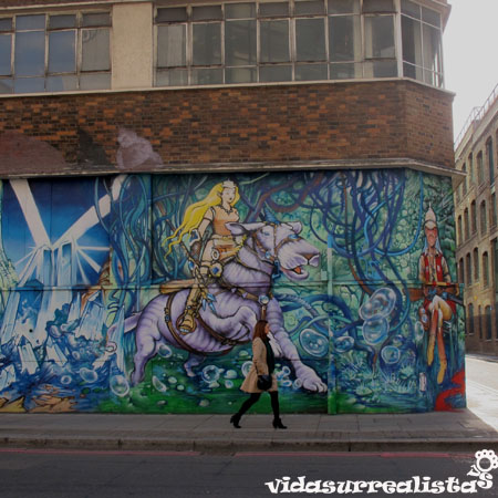 Grafitis de Londres vidasurrealista 13