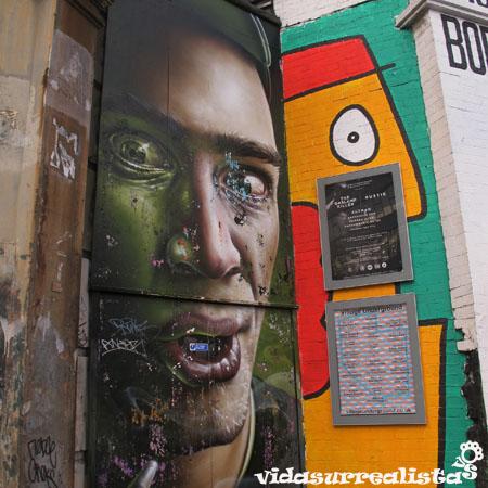 Grafitis de Londres vidasurrealista 17