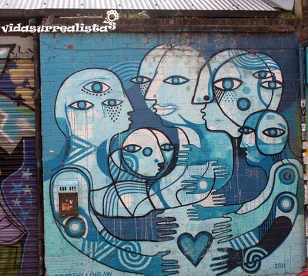 Grafitis de Londres vidasurrealista 21