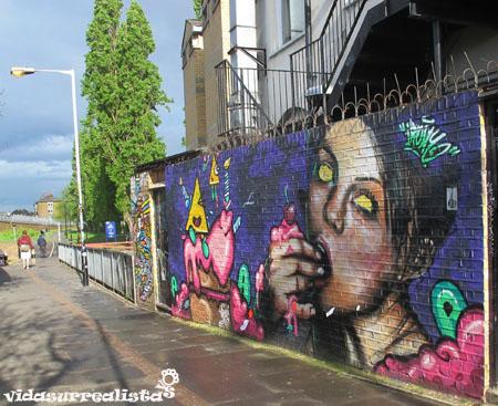 Grafitis de Londres vidasurrealista 25