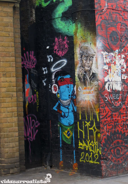 Grafitis de Londres vidasurrealista 29