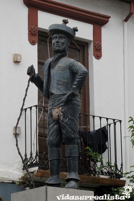 Mariano Fernández, conocido como Chorrojumo el rey de los Gitanos