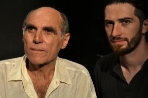 Francisco Cocuzza (actor, izquierda) - Mariano Rivera (director, derecha)