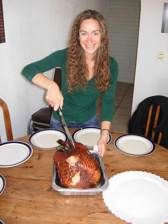 Thanksgiving en Querétaro, México con los Campbells