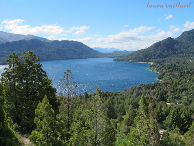 Vista desde la zona de escalada de Cerro de la Ventana