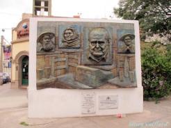 Paseo de los Poetas, frente a la Peña Balderrama