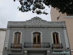 Edificio en la plaza principal de Salta
