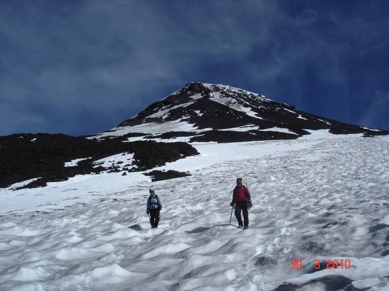 Aunque pasen los años, el ascenso al volcán Lanín sigue siendo uno de mis favoritos.