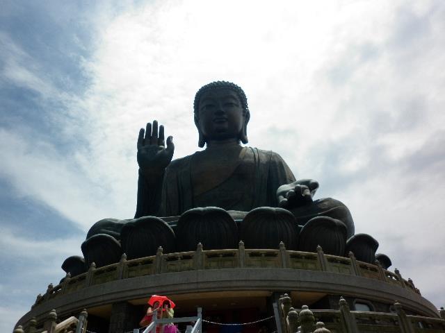 Creo que esta es la mejor de mis viajes en estos 9 años!! El Gran Buda Tian Tan, Ngong Ping, Isla de Lantau, Hong Kong - Griselda Dalesio